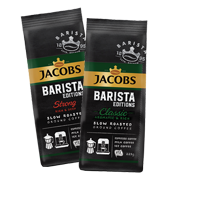 Кава мелена Jacobs Barista Classic та Strong